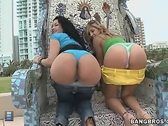 Big asses pounding adventure. [4 movies]