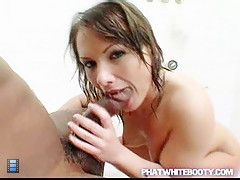 Nasty wild white chick bathroom fuck [3 movies]