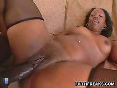 Big ass of anyjah black. [4 movies]