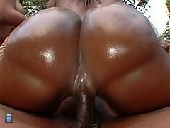 Hot ebony lady ass sex scene [5 movies]