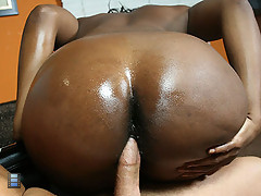 Big Booty black girl Delotta strips and fucks at a party [4 movies]