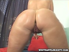 huge white apple booty gets stuffed [6 movies]