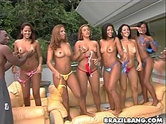 Hardcore brazilians with huge butts [6 movies]