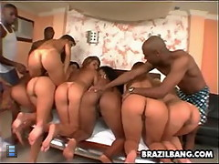 Horny latinas wild gang bang [4 movies]