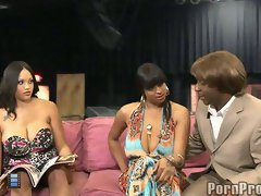 Bubble butt ebony spice and carmen hayes in the maurice show.. [4 movies]