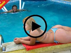 Sexy brazilian girl huge ass take sit deep anal hardcore sex perky tits fat tight pussy [1 movies]