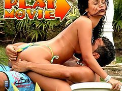 Check out suzanna this brazilian girl with a hot bikini tan line and watch her get fucked by the pool in these hot movies [4 movies]