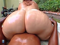 big BBW gets her pussy stuffed with cock [4 movies]