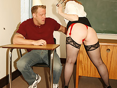 student nails his big booty teacher [15 pictures]