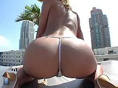 Ass in the sun with Jada Stevens [4 movies]