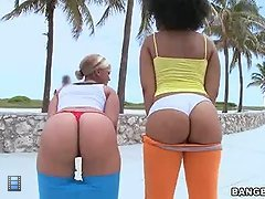 This weeks feature stars daiquiri divine & paris. these two ladies are super fine with monster big asses.. [4 movies]