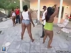 Fat black ass. [4 movies]